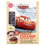 Cake Angels Disney Cars Chocolate Cupcake Kit 125g